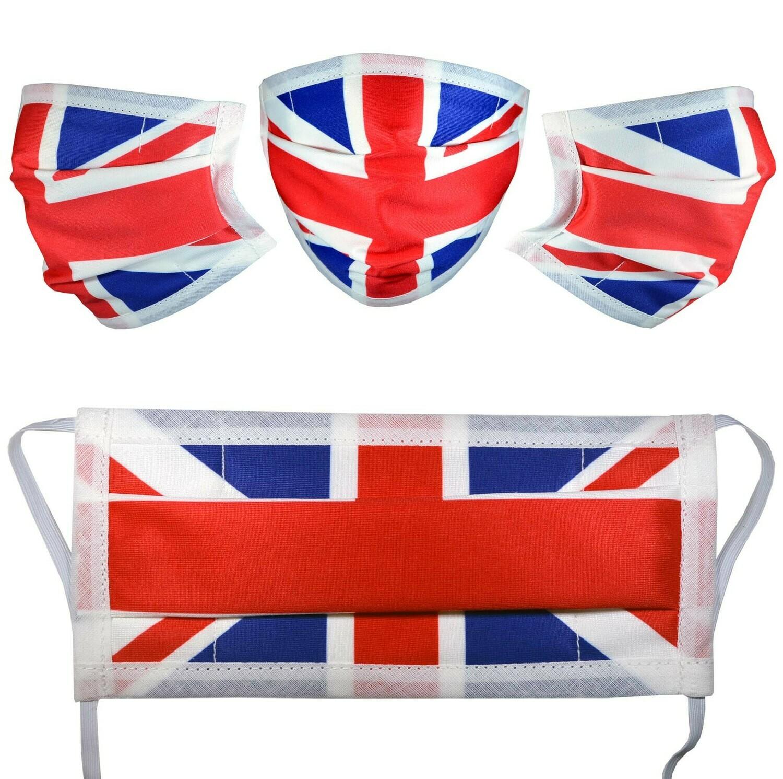 Flag Designer Face Masks with Filter Pocket