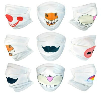 Fun Designs | Face Masks with Filter Pocket