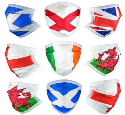 Flag Designer Face Masks with Filter Pocket