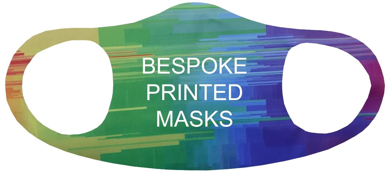 Single Layer Bespoke Jersey Masks | Packs of 5