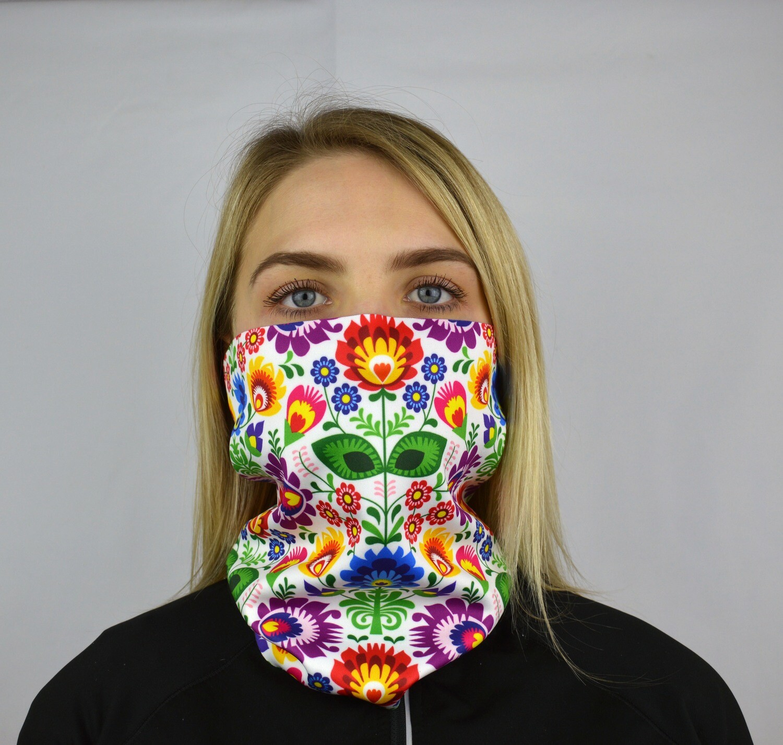 Printed   Snood Mask