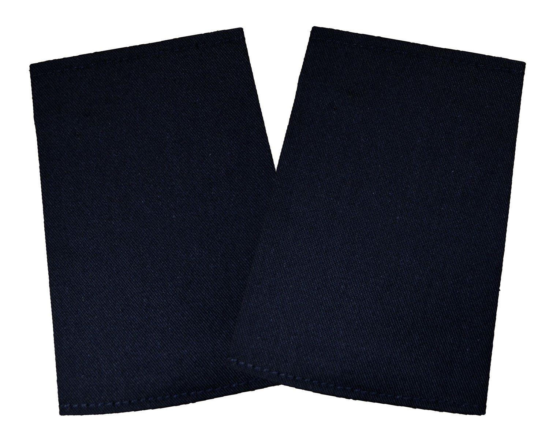 Blank Black | Packs of 5 | Epaulette Sliders