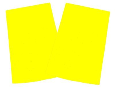 Blank Hi Viz | Packs of 5 | Epaulette Sliders