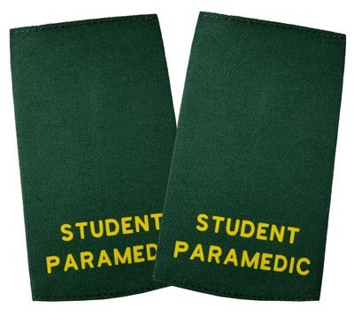 Ambulance | Stock held Printed Epaulette Sliders