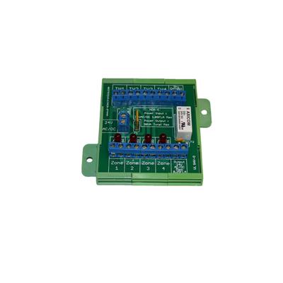 Four Zones Radiant Floor Manifold Control Module