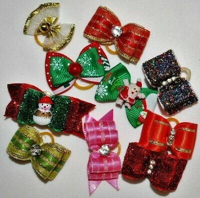 Assorted Variety Pack Holiday Bows