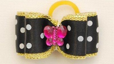 Polka Dot with gold band