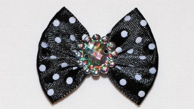 Polka Dot Dog Bows