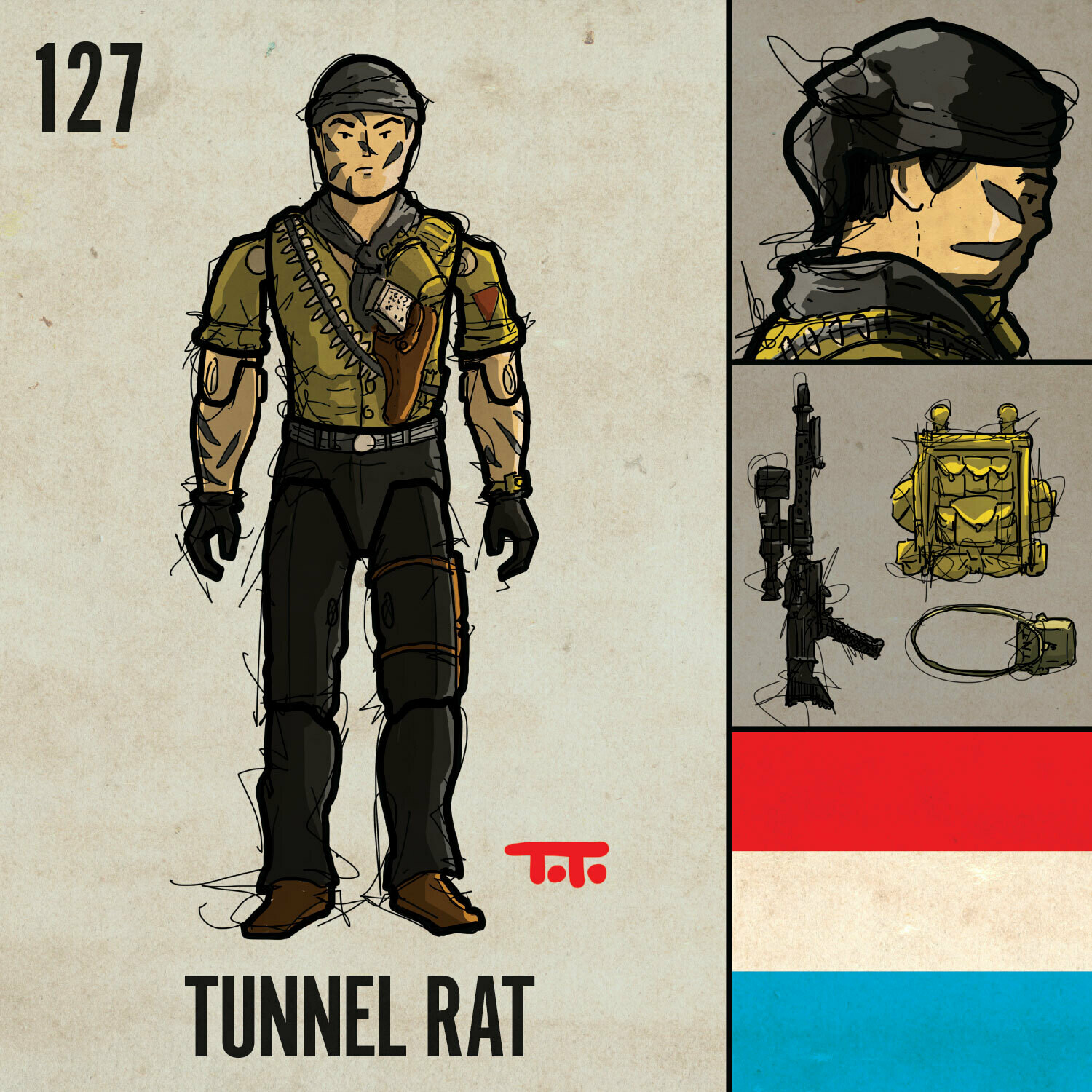 G365 SQ-127 TUNNEL RAT