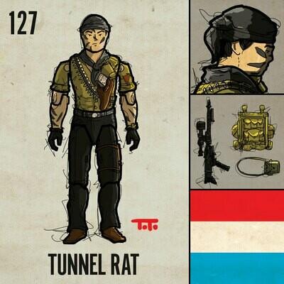 G365 SQ-127 TUNNEL RAT
