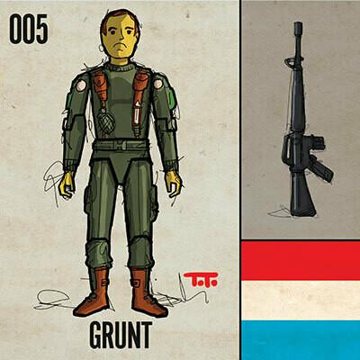G365 SQ-005 GRUNT