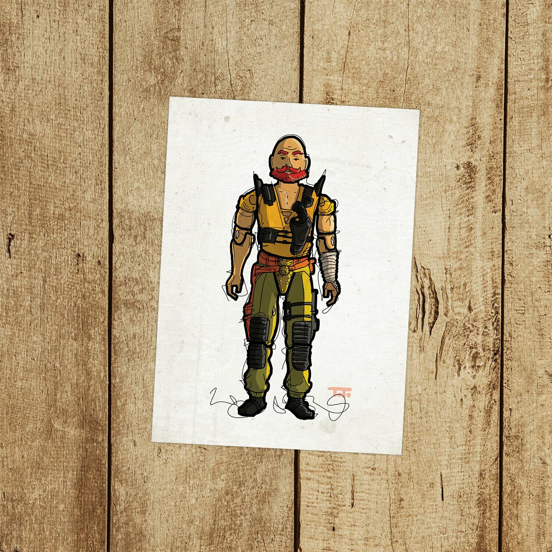 "GIJOE365 140: ""Taurus"" prints"