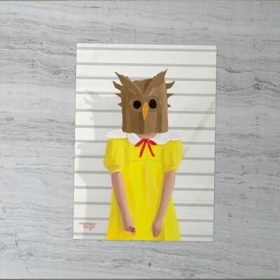 HW - Vintage Kids - 04 - Paper Bag Owl