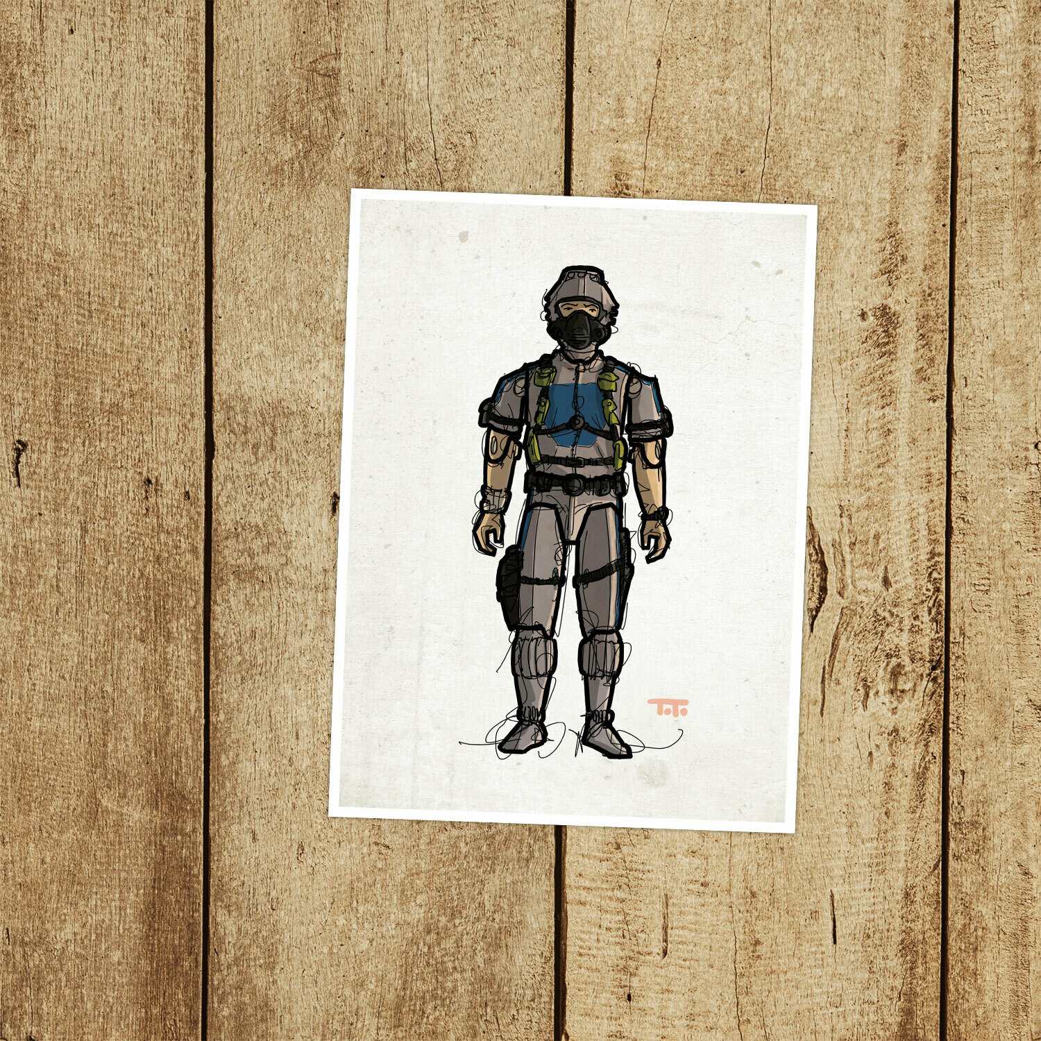 "GIJOE365 100: ""Wet-Suit"" (v2) prints"