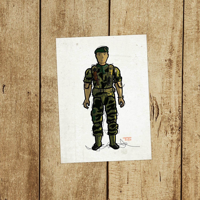 "GIJOE365 117 ""Lt. Falcon"" prints"