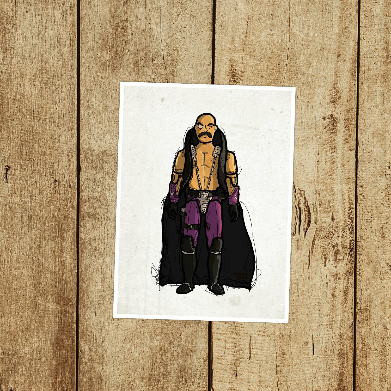"""GIJOE365 082: """"Dr. Mindbender"""" prints"""