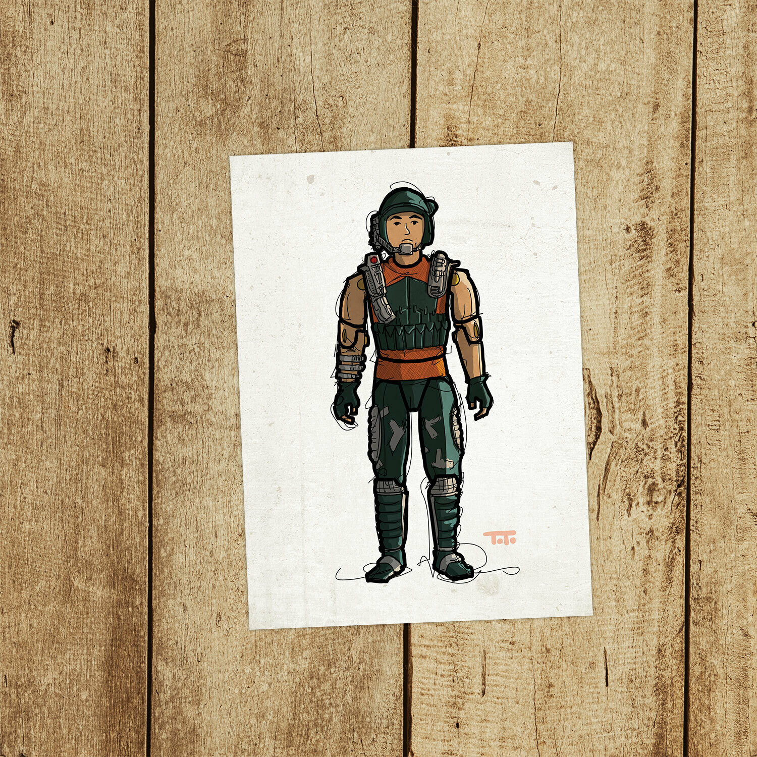 "GIJOE365 147: ""Dodger"" prints"