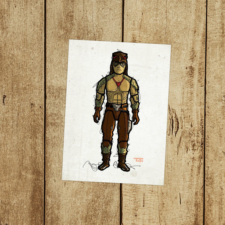 "GIJOE365 124: ""Raptor"" prints"