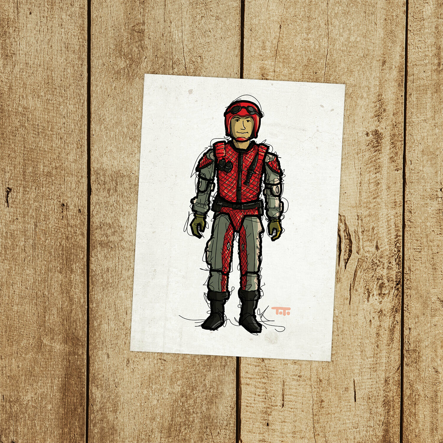"GIJOE365 114: ""Crazylegs"" prints"
