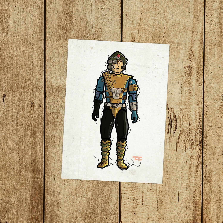 """GIJOE365 148: """"Knockdown"""" prints"""