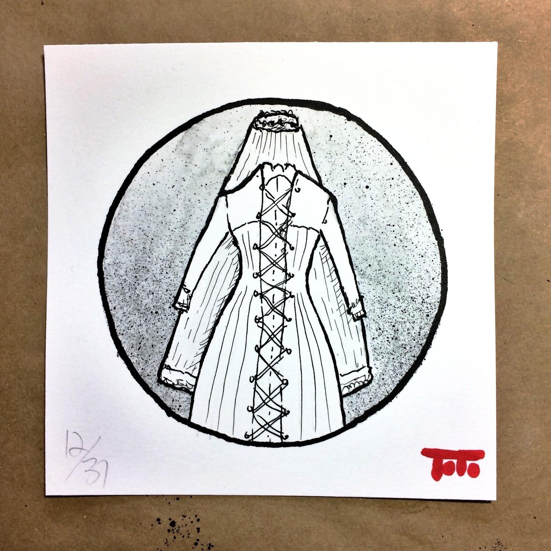 "HUSH BABY - 12 - ""Wedding Dress"" (original)"
