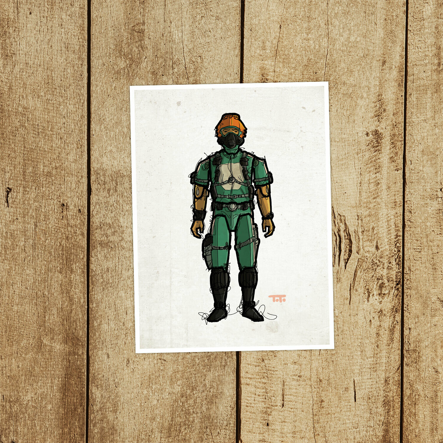 "GIJOE365 093: ""Wet-Suit"" (v1) prints"