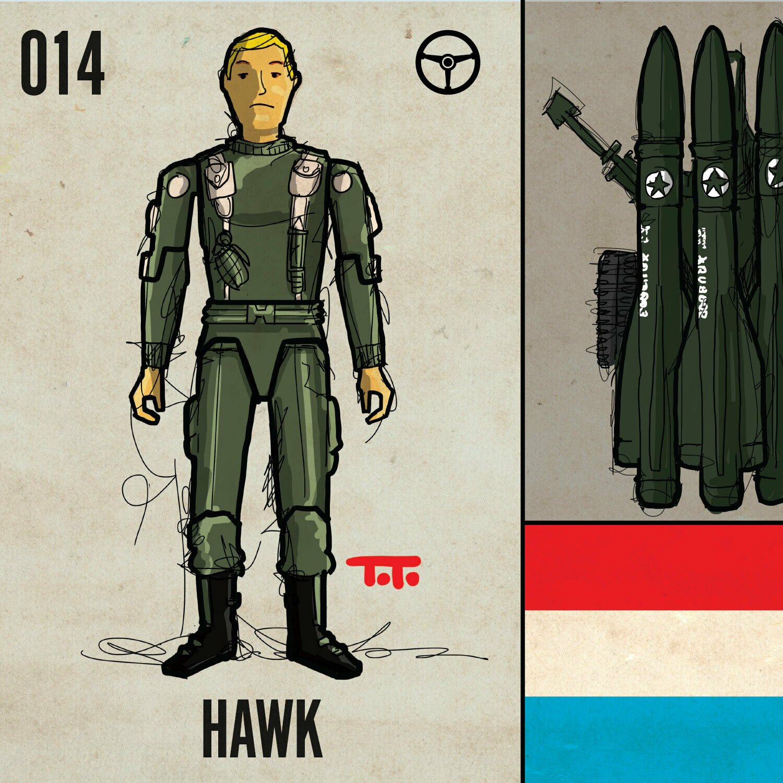 G365 SQ-014 HAWK