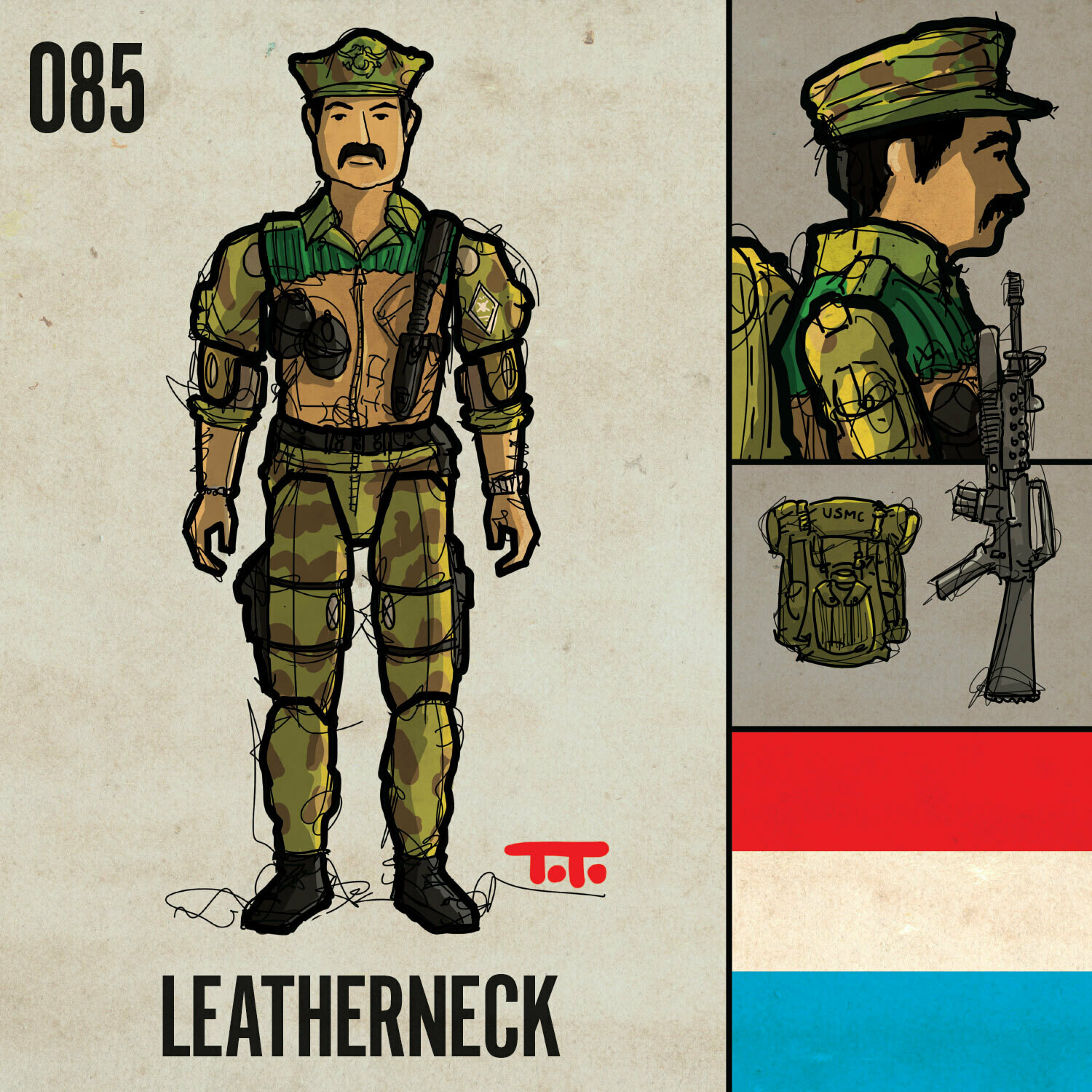G365 SQ-085 LEATHERNECK