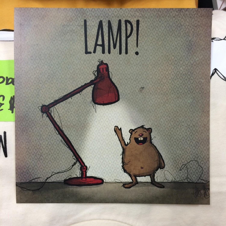 """""""Lamp!"""" Art Print"""