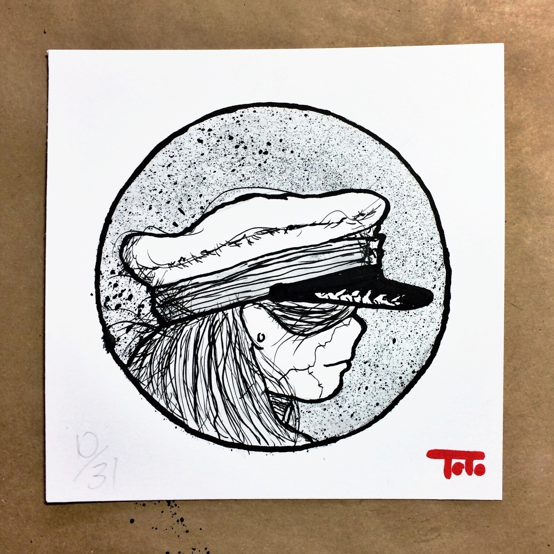 "HUSH BABY - 10 - ""Captain's Hat"" (original)"