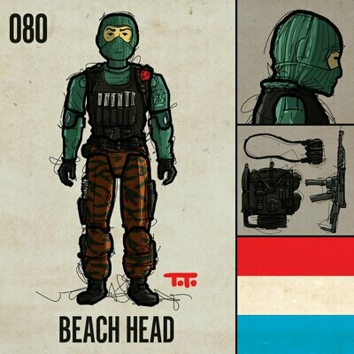 G365 SQ-080 BEACH HEAD