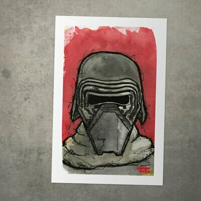 Star Wars Watercolour Print -