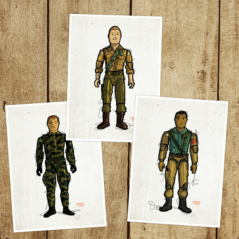 "G365PP ""Paratrooper 3-pack"""
