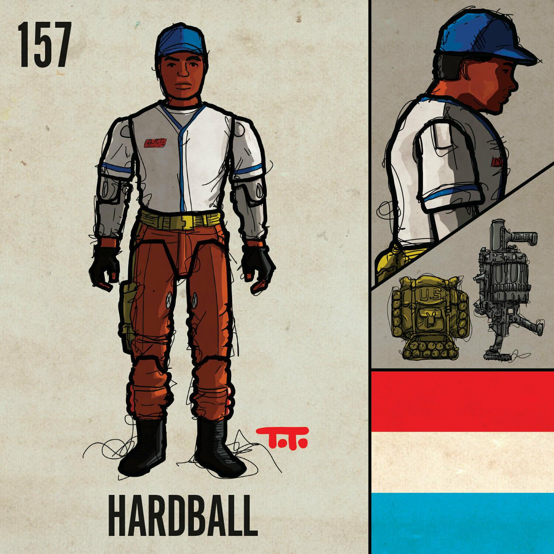 G365 SQ-157 HARDBALL