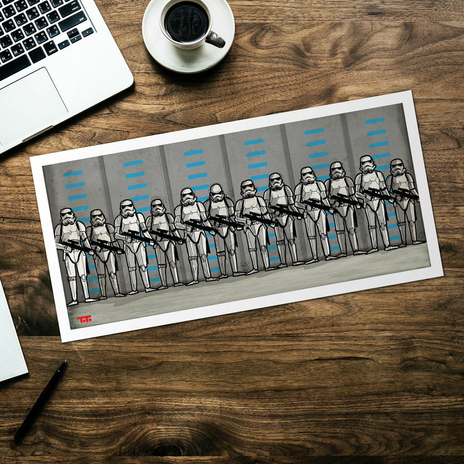 DID Comic POSTER- SW - StormTrooper