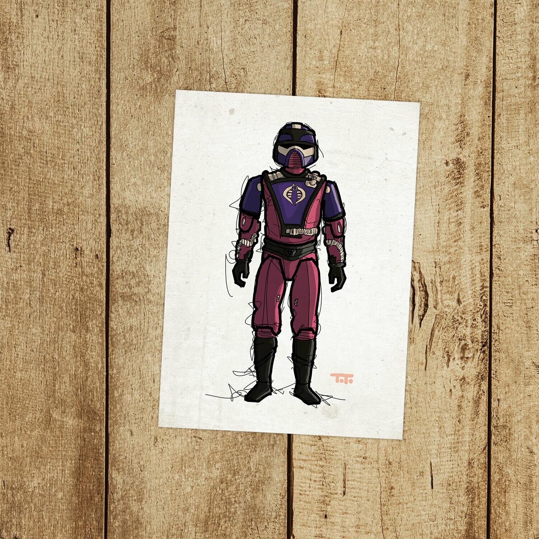 "GIJOE365 126: ""Techno-Viper"" prints"