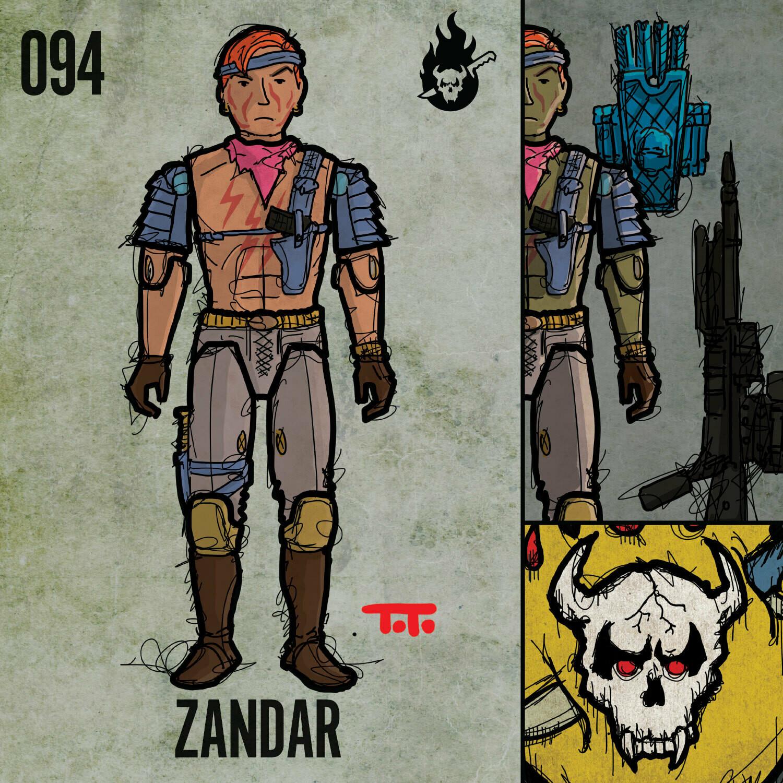 G365 SQ-094 ZANDAR
