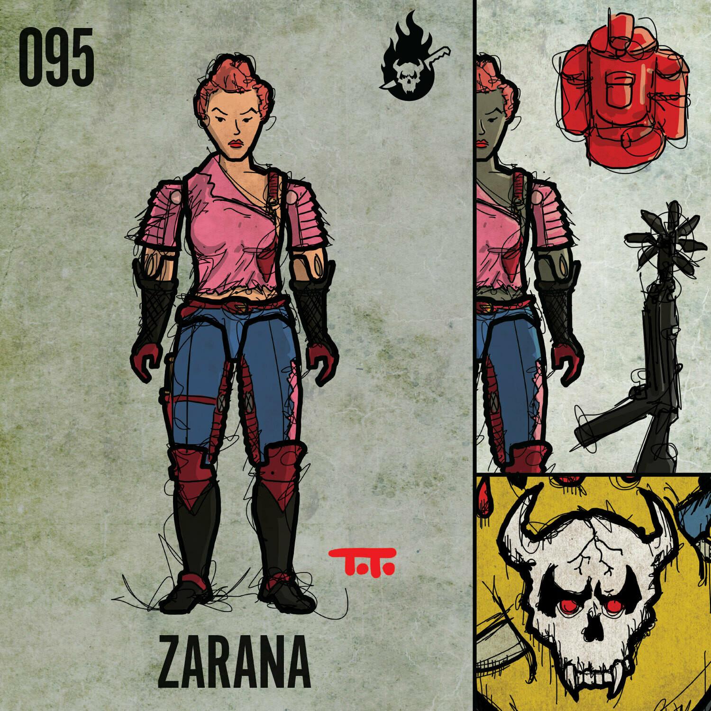 G365 SQ-095 ZARANA