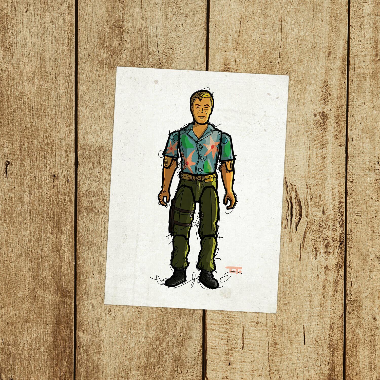 "GIJOE365 112: ""Chuckles"" prints"