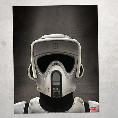 KH15 - Scout Trooper (BATTLE-WORN)