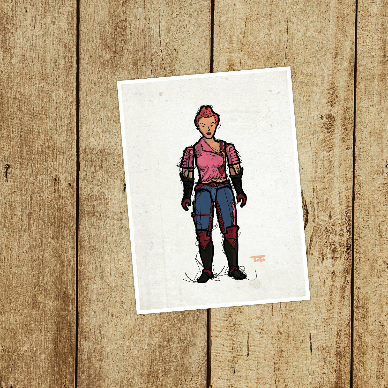 "GIJOE365 095: ""Zarana"" prints"