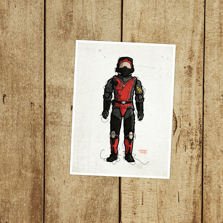 """GIJOE365 108: """"Strato-Viper"""" prints"""