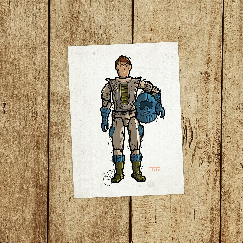 """GIJOE365 149: """"Maverick"""" prints"""