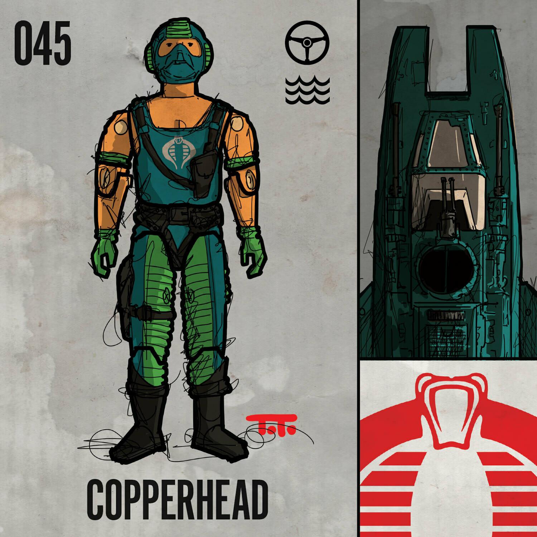 G365 SQ-045 COPPERHEAD