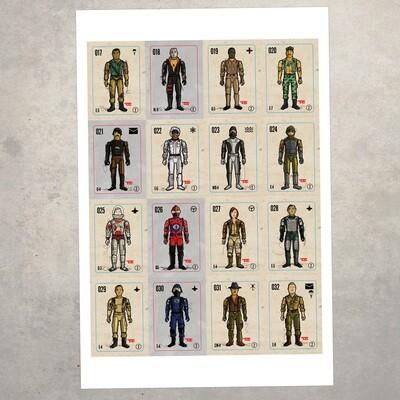 GIJOE365 POSTER - 1983 Figures