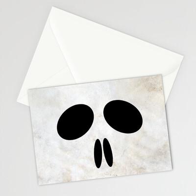 HW - CARD - 10 - Skull