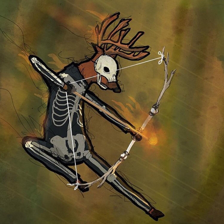 """The Deer Hunter"" Art Print"