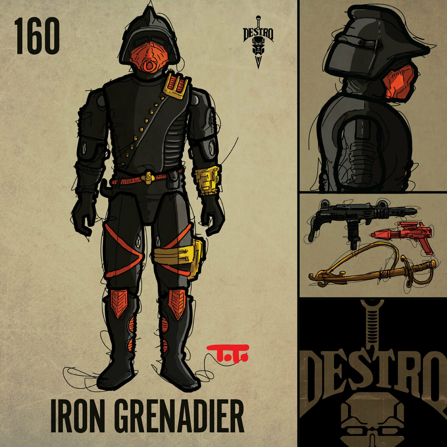 G365 SQ-160 IRON GRENADIER