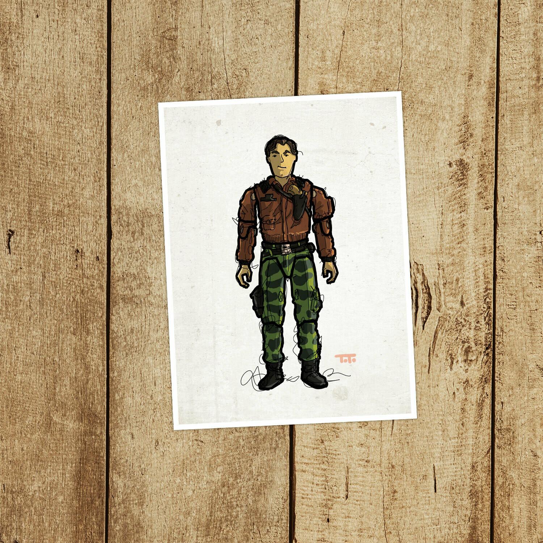 "GIJOE365 083: ""Hawk"""