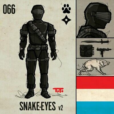 G365 SQ-066 SNAKE-EYES v2